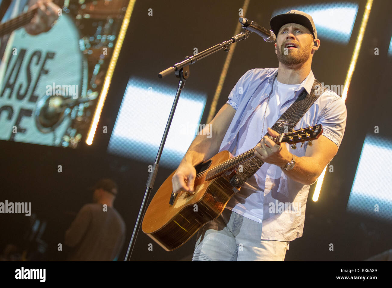 London Uk 8th Mar 2018 Chase Rice Performing On Day 1 Of