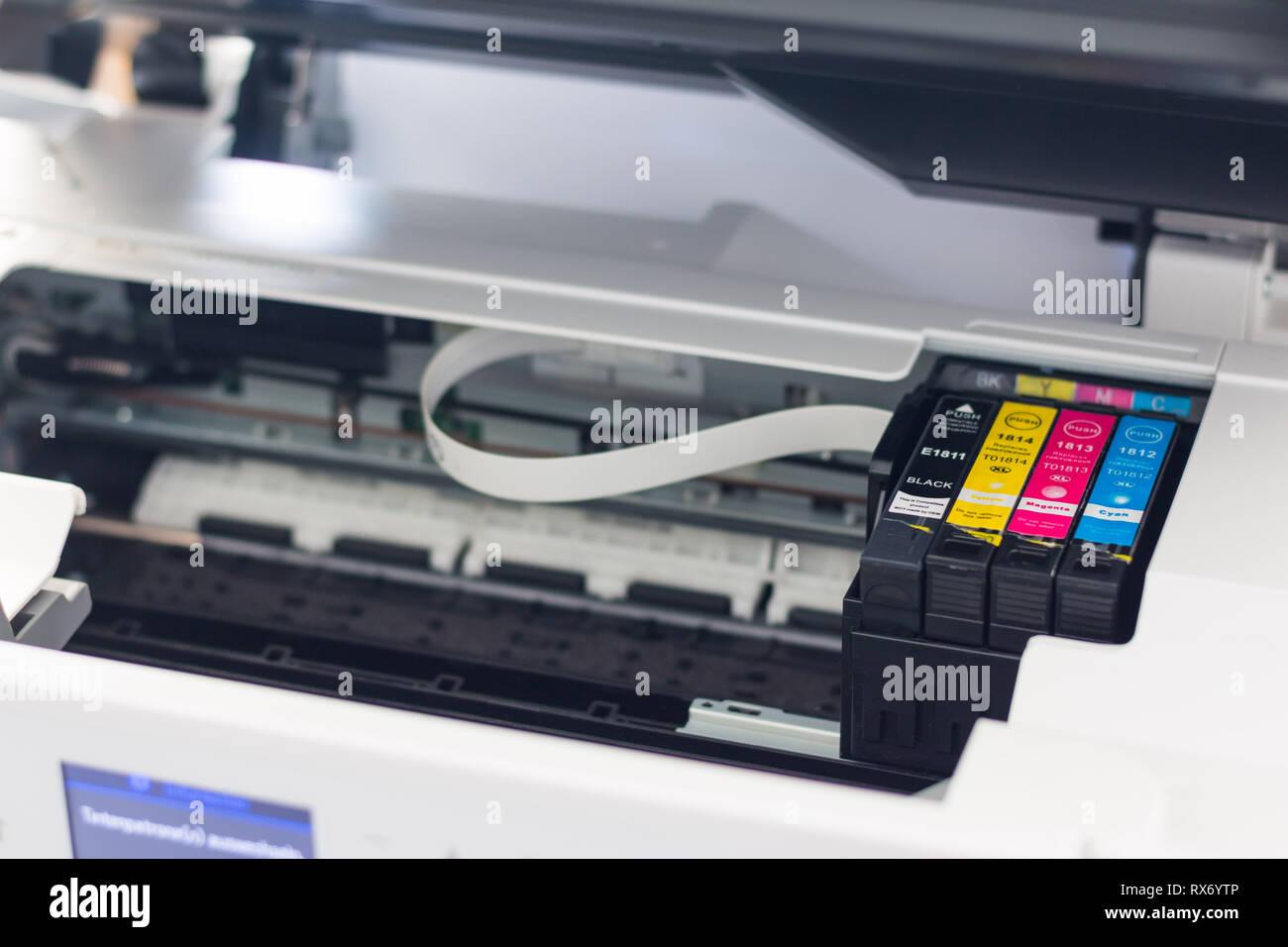 1f89ed9781f0 Printer Cartridge Stock Photos   Printer Cartridge Stock Images - Alamy