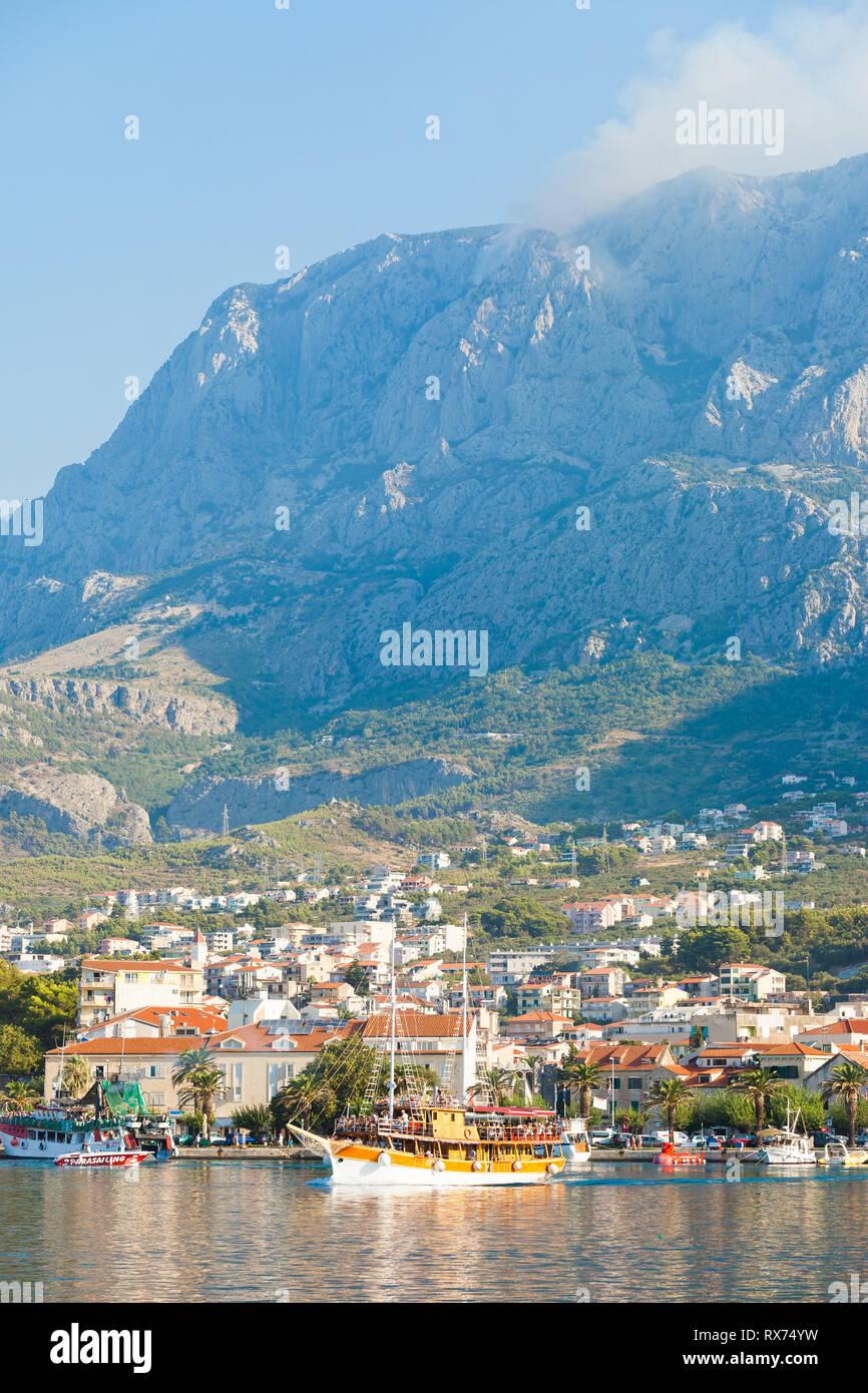 Makarska, Dalmatia, Croatia, Europe - Life is beautiful at the Riviera of Makarska Stock Photo
