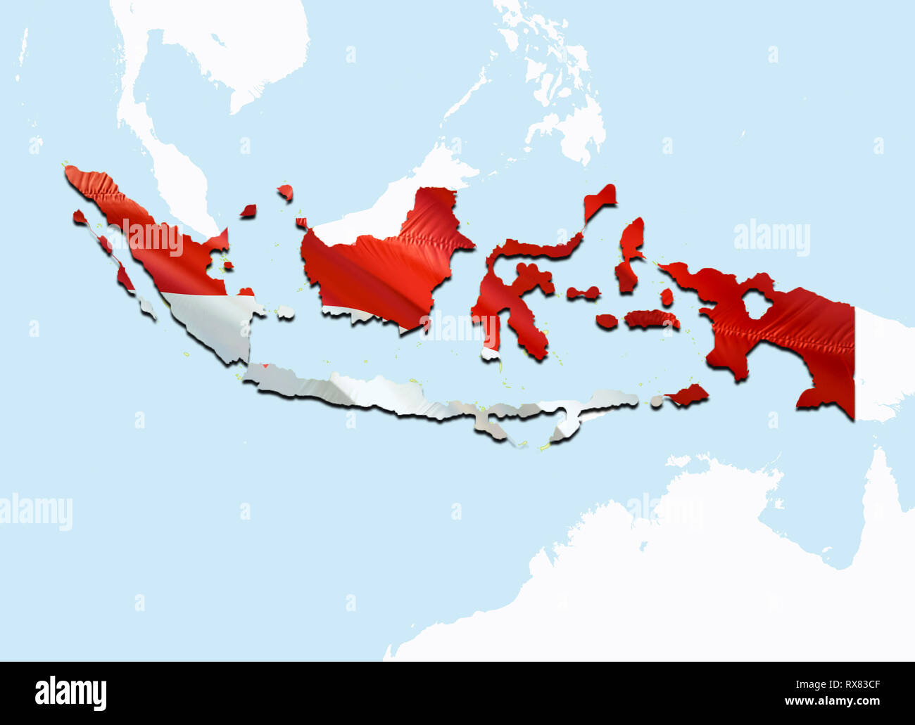 Indonesia Map Stock Photos & Indonesia Map Stock Images - Alamy