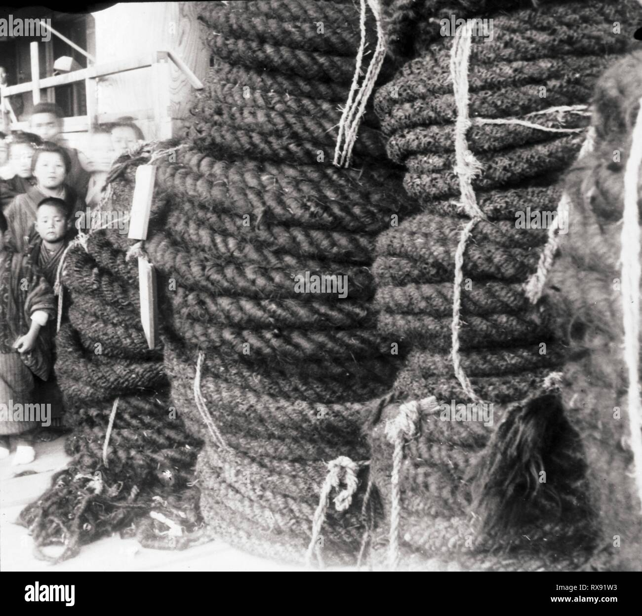 human hair rope
