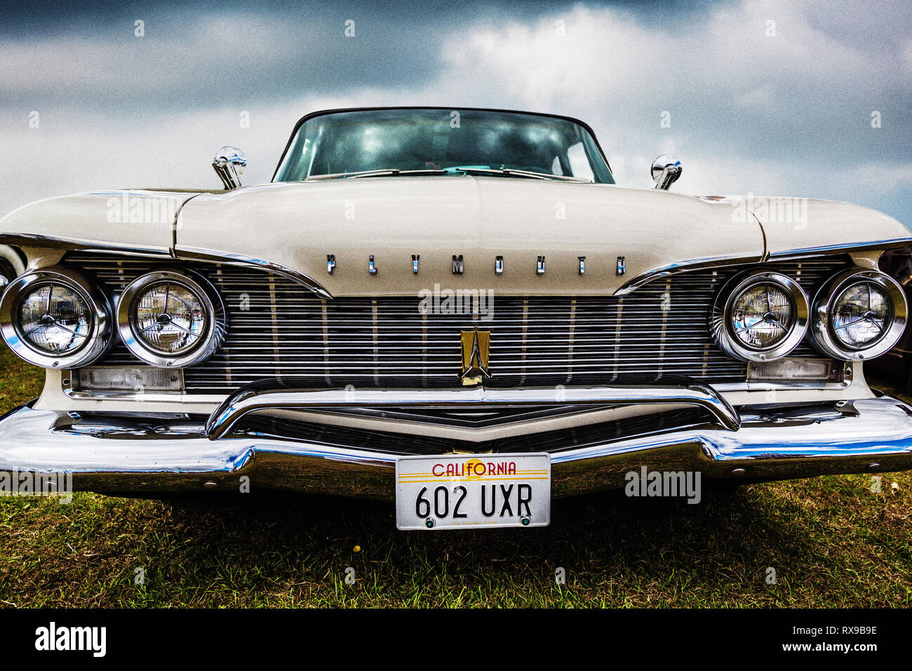 American Muscle Car - Stock Image