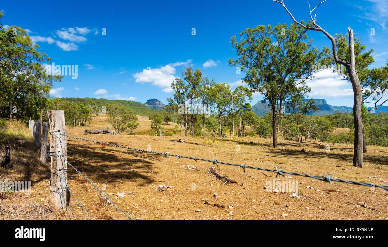 The Australian Countryside - Stock Image