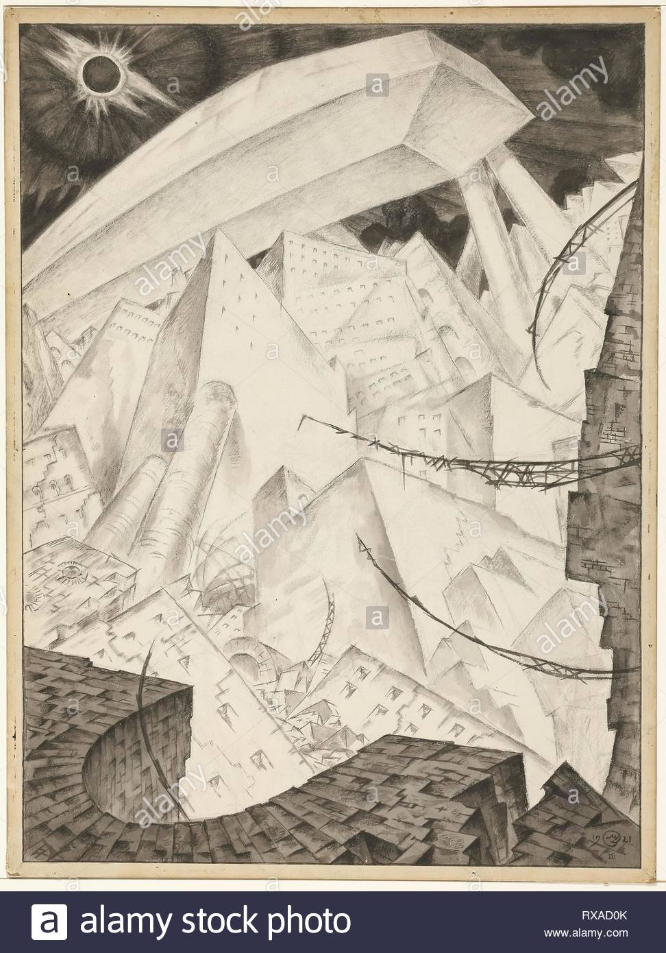 3f9860ac011 The End. Mstislav Valerianovic Dobuzinskij; Russian, 1875-1957. Date: 1921