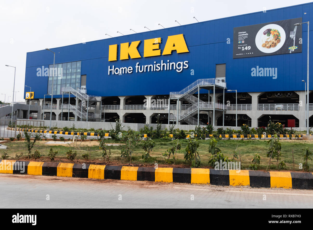 Hyderabad,India-09 March 2019 View of Swedish furniture giant IKEA,opened its first store on August 09,2018 in the southern city of Hyderabad,India - Stock Image