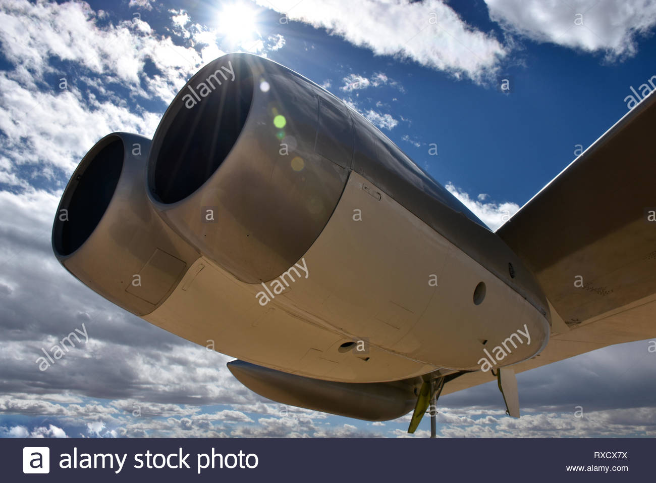 Jet Engines - Stock Image
