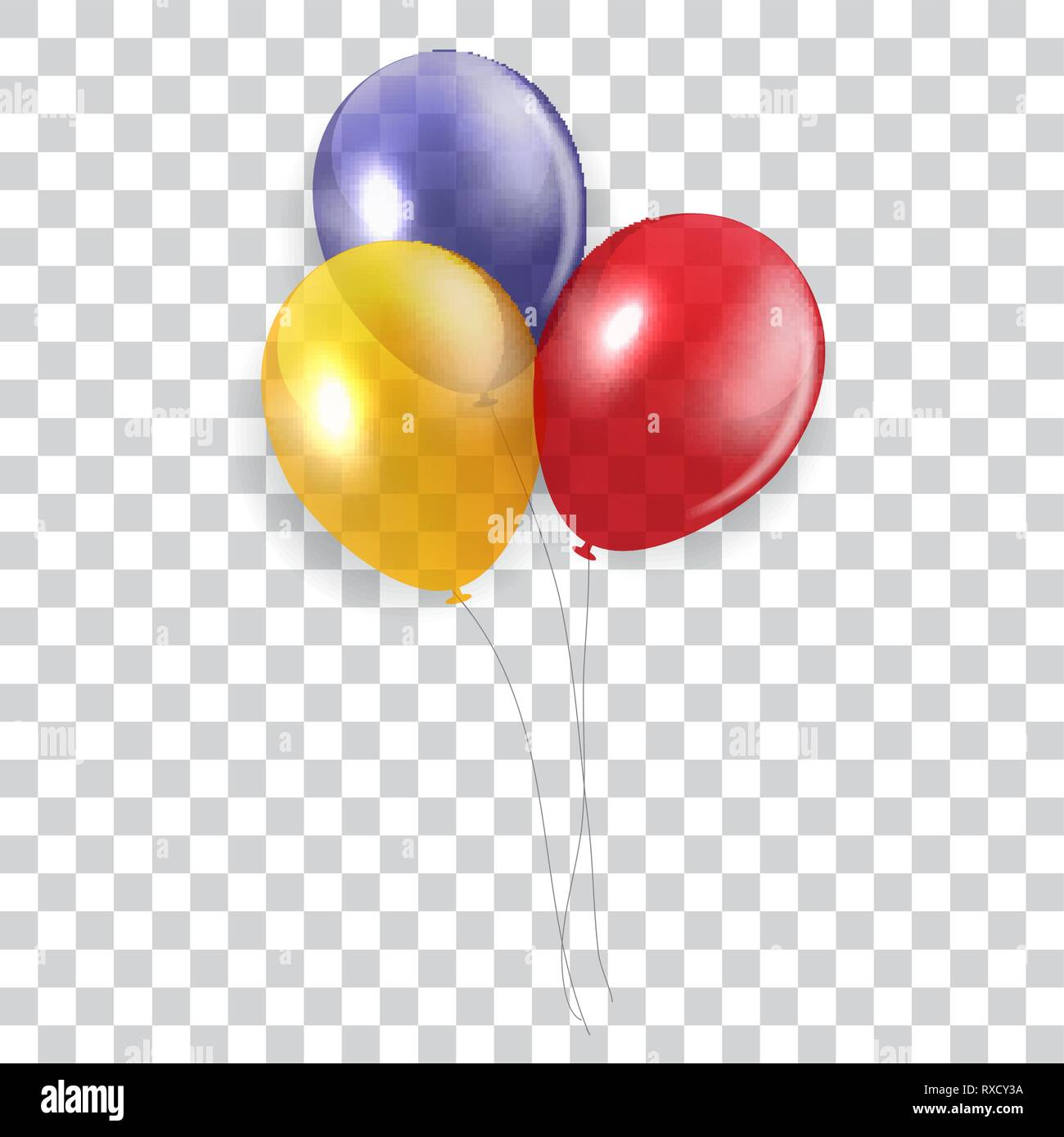 Glossy Happy Birthday Concept With Balloons Isolated On Transparent Background Vector Illustration Eps10 Stock Vector Image Art Alamy Balloons clip art transparent background. https www alamy com glossy happy birthday concept with balloons isolated on transparent background vector illustration eps10 image240000526 html