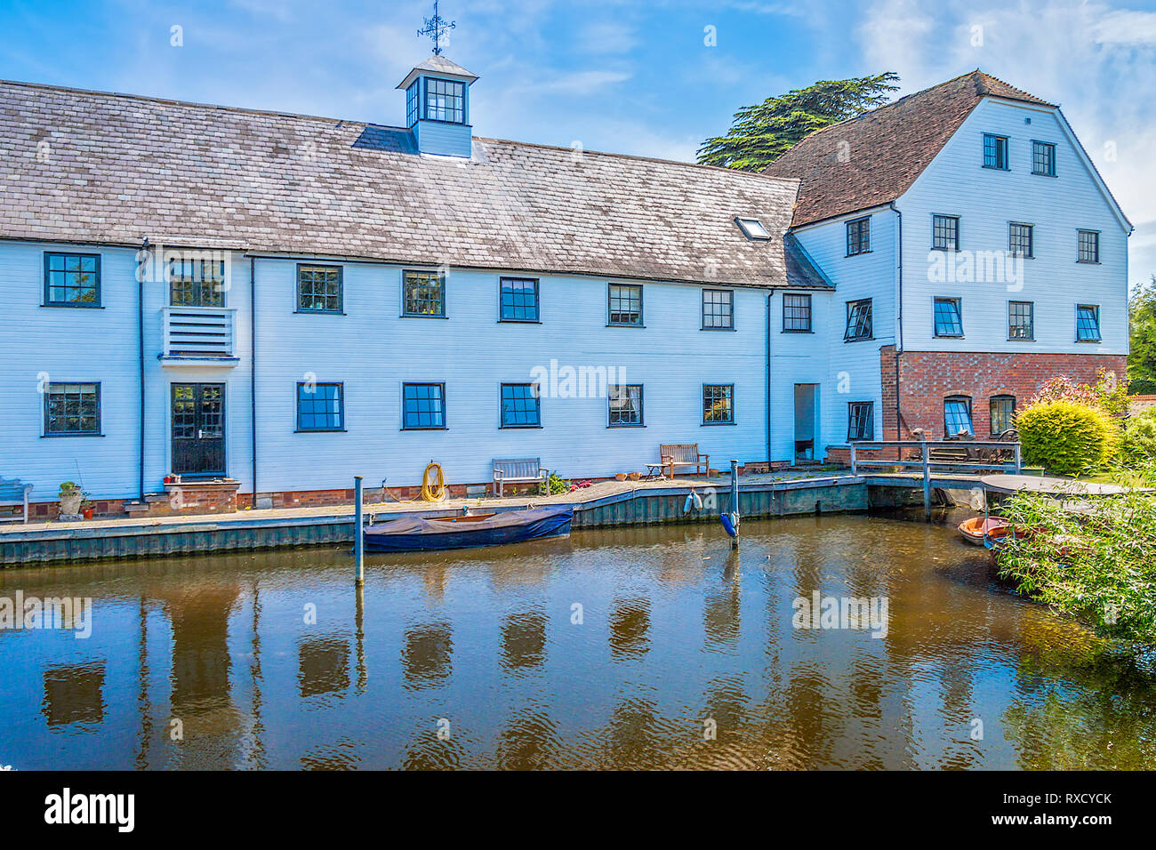 Hambleden Mill, Henley On Thames, Oxfordshire, UK - Stock Image