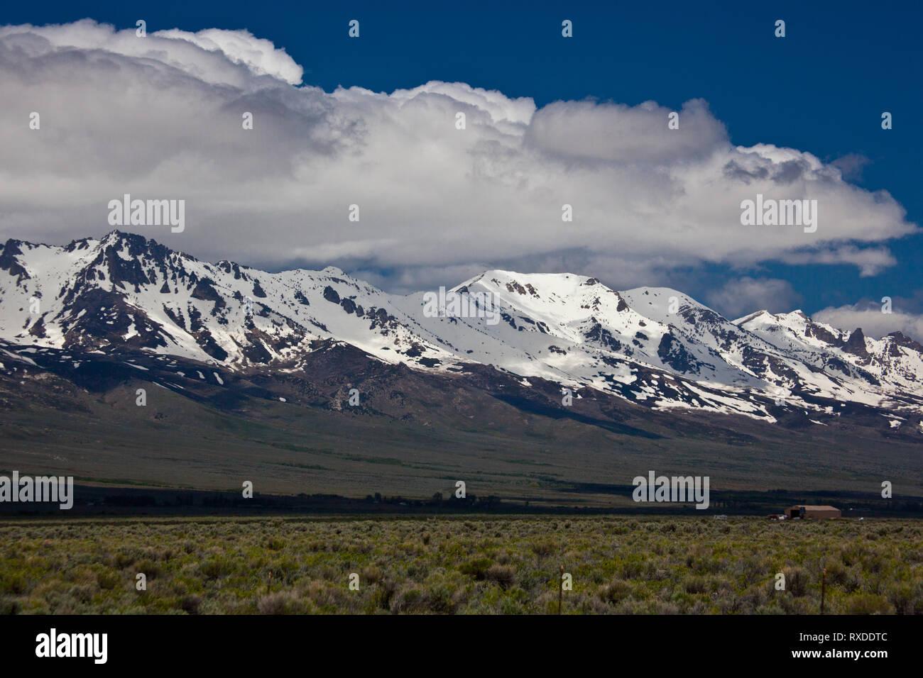 Ruby Mountains, Elko County, Nevada, USA - Stock Image