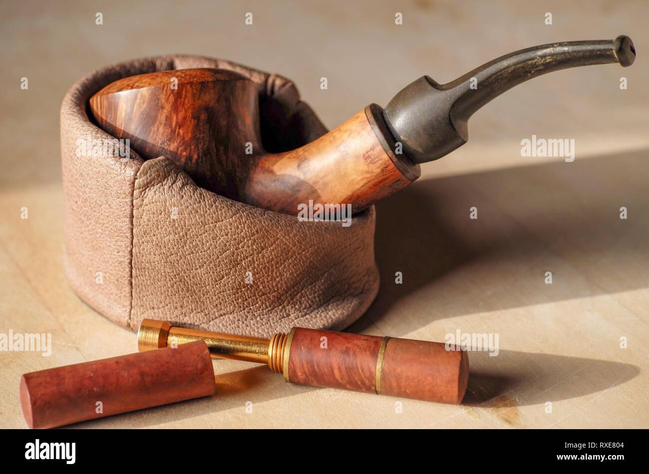 Stilleben Tabak Pfeife - Stock Image