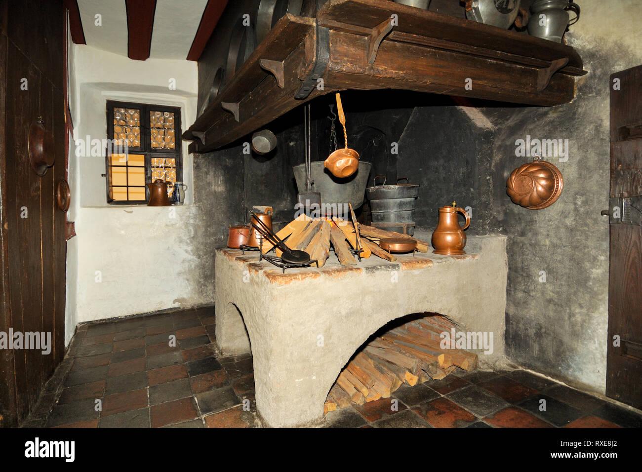 Deutschland, Bayern, Franken, Nürnberg, Albrecht Dürer Haus, Alte Küche
