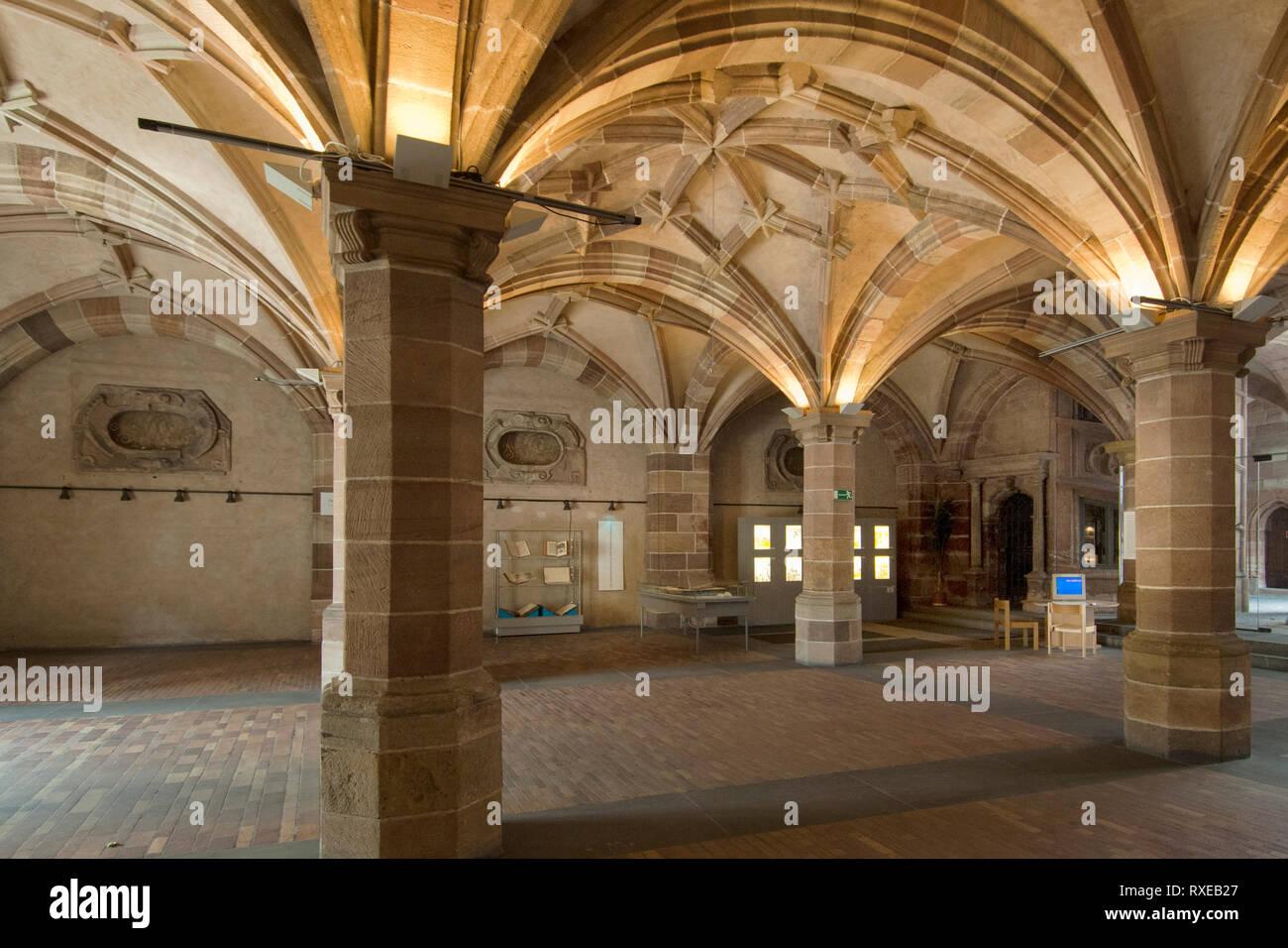 Deutschland, Bayern, Franken, Nürnberg, Pellerhaus, ein kunst- und architekturgeschichtlich sehr bedeutendes Nürnberger Renaissance-Bürgerhaus mit rei - Stock Image