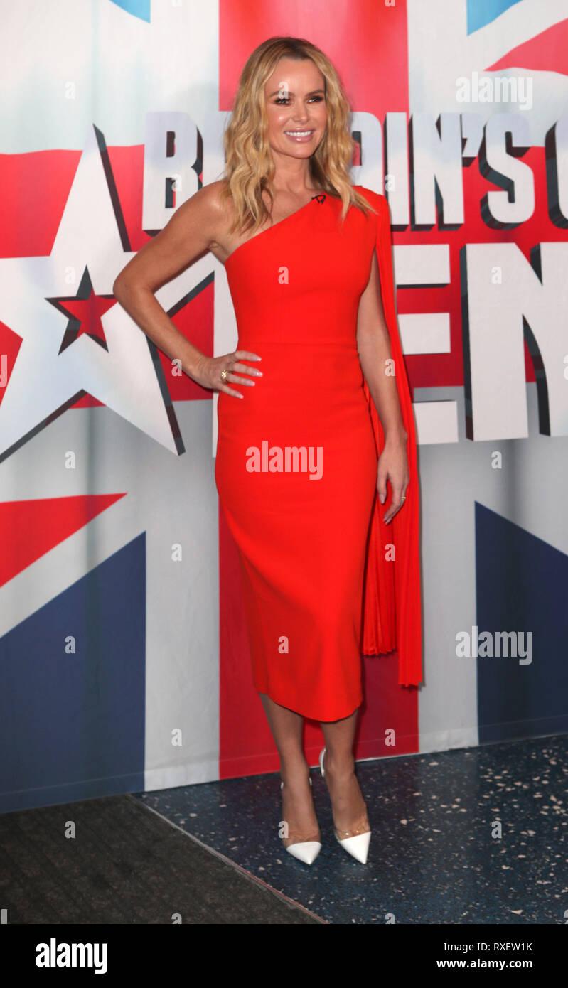 Britain S Got Talent Auditions Kick Off In Manchester Featuring Amanda Holden Where Manchester United Kingdom When 06 Feb 2019 Credit John Rainford Wenn Stock Photo Alamy