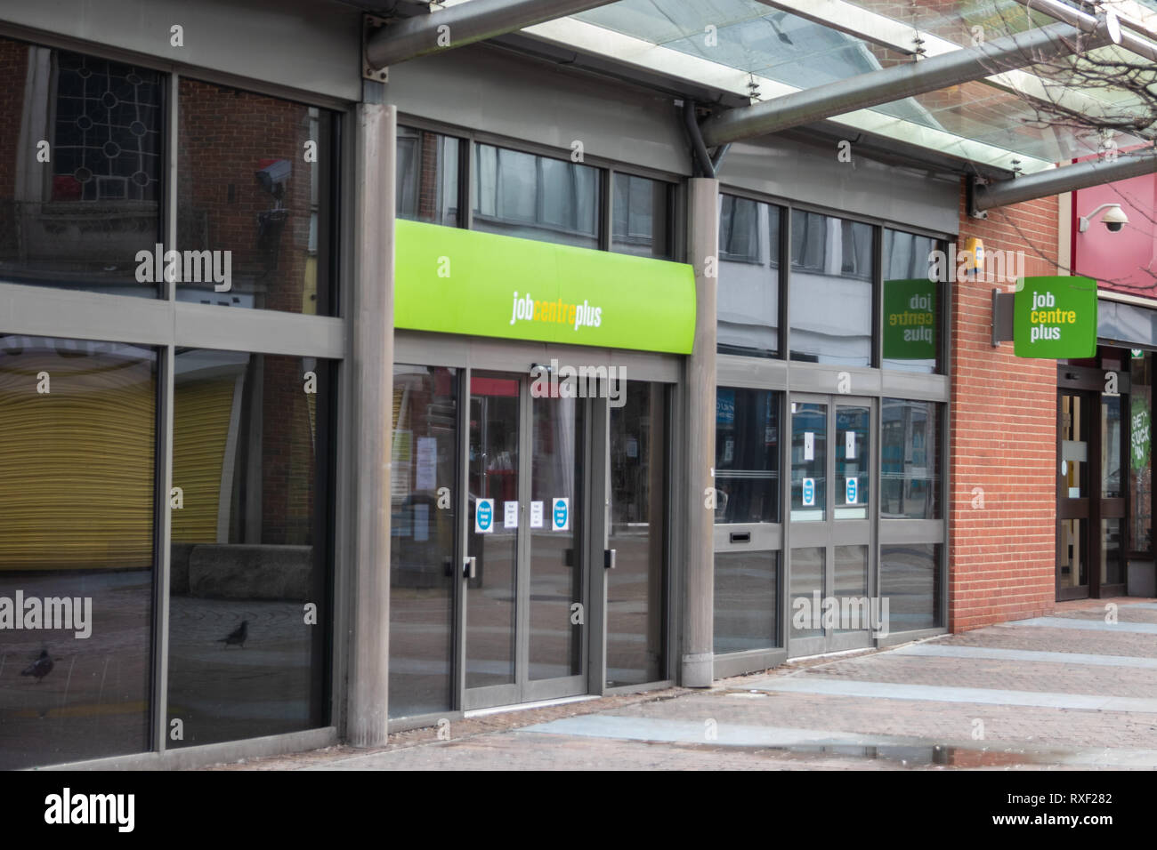 Jobcentre Plus Shop front - Stock Image