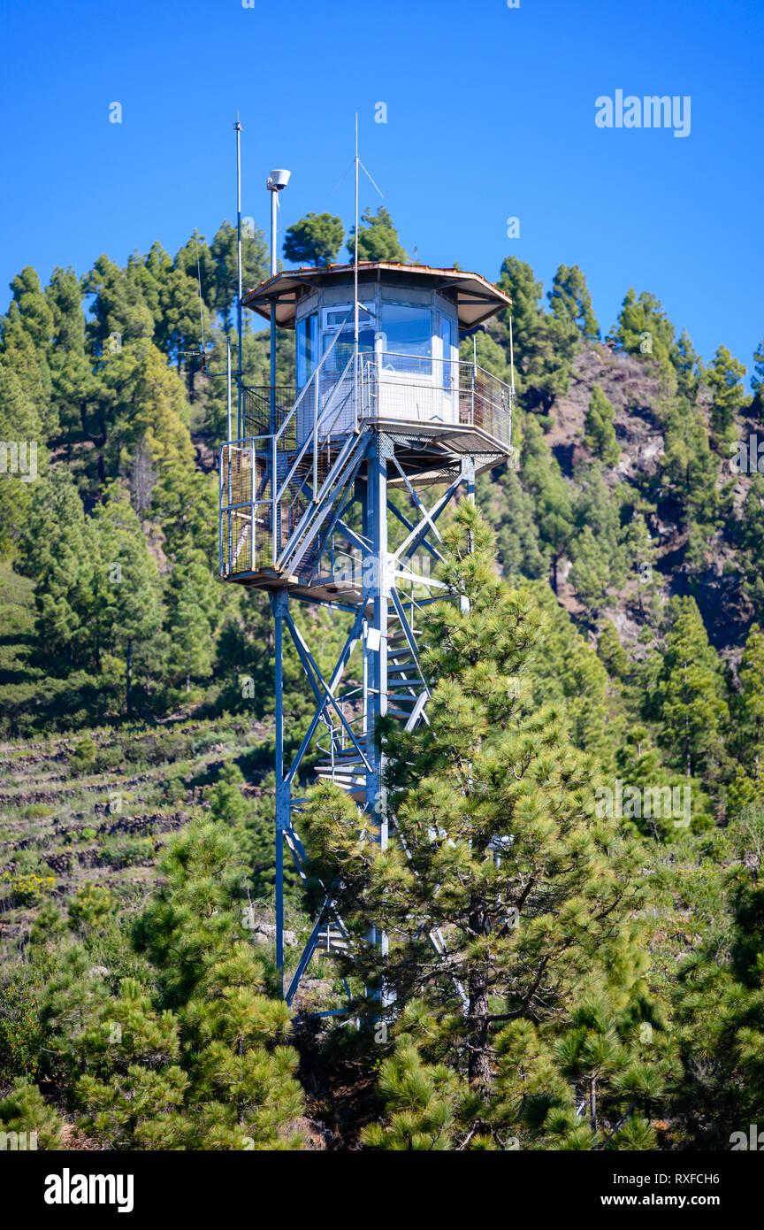 Torre del Time on La Palma - Stock Image