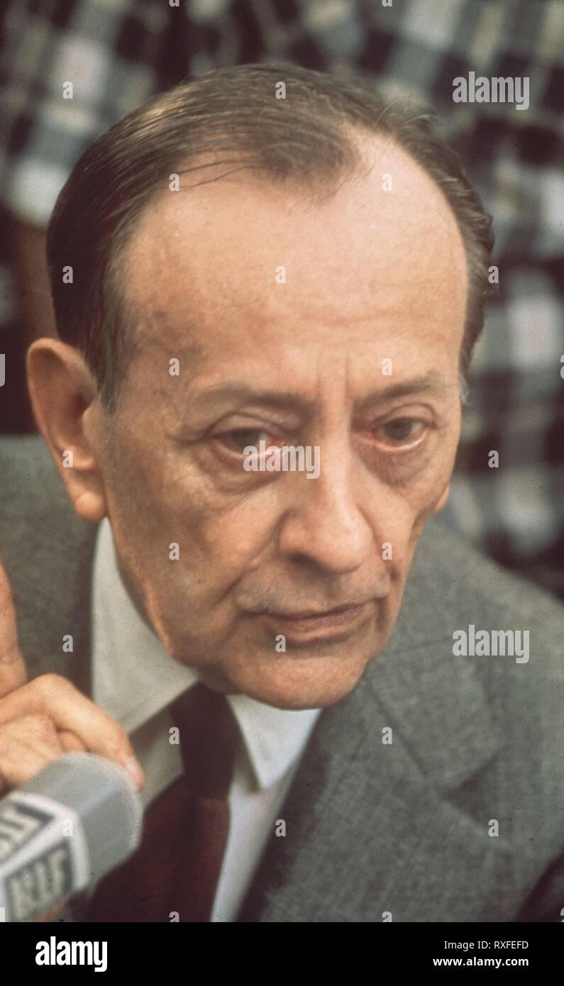 ANDRE MALRAUX (1901-1976) - NOVELISTA AVENTURERO Y POLITICO FRANCES. Stock Photo