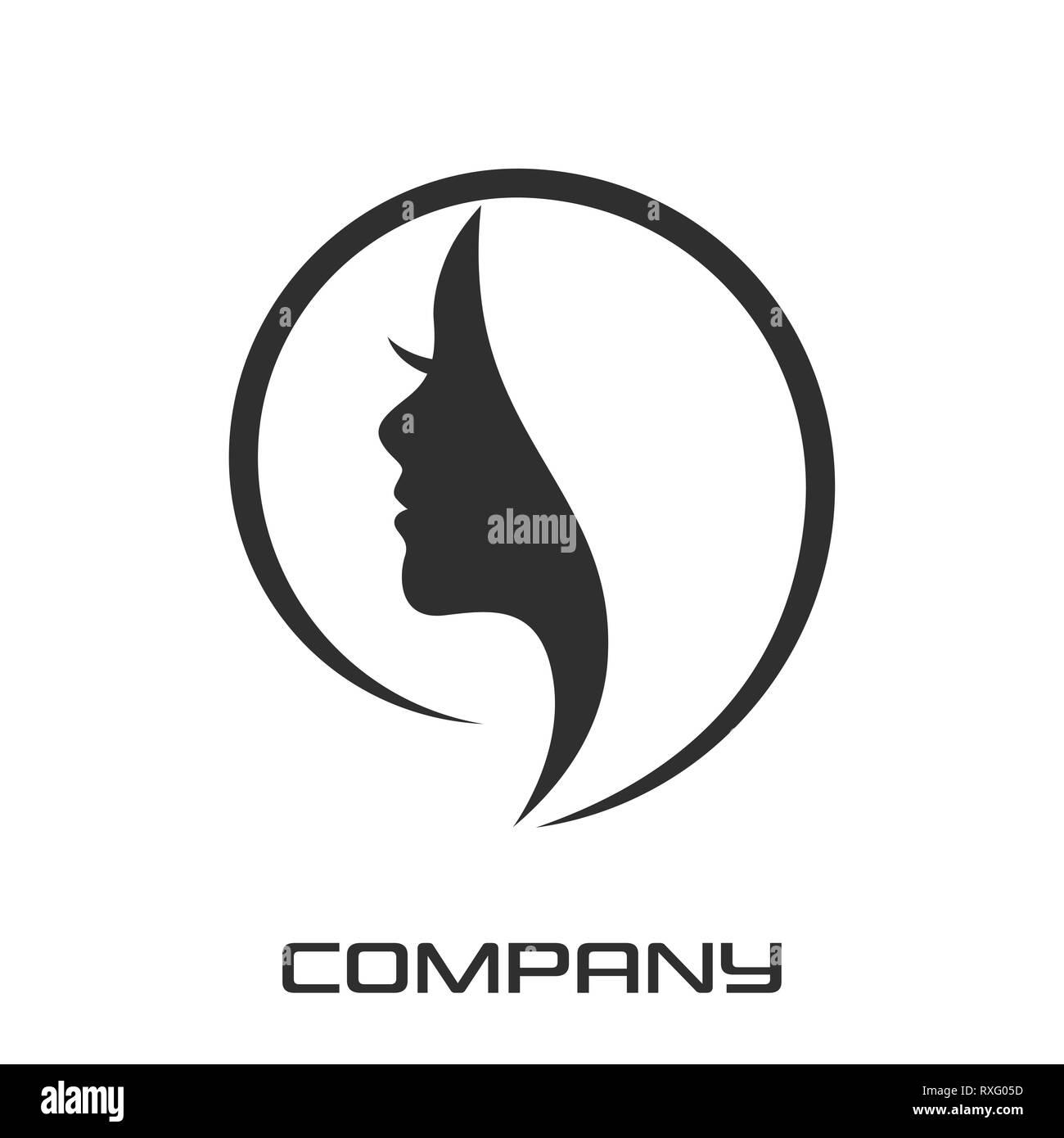 Modern Beauty Logo Stock Photo Alamy
