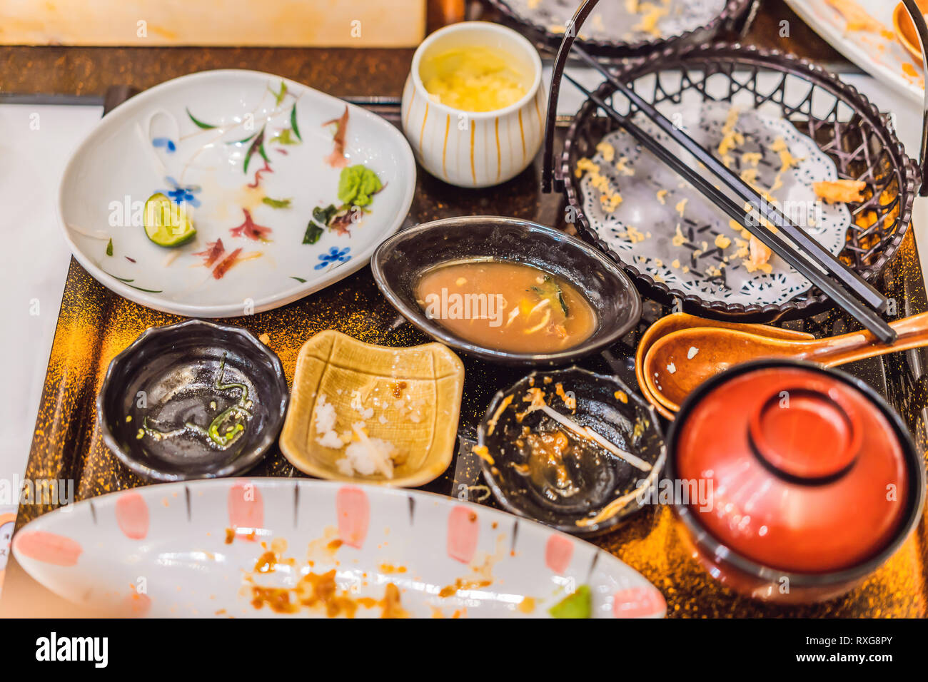 Image result for messy table restaurant