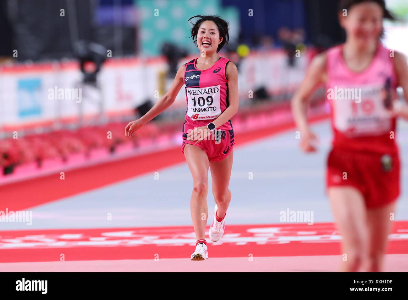 Nagoya, Aichi, Japan. 10th Mar, 2019. Mizuki Tanimoto (JPN) Marathon : Nagoya Women's Marathon 2019 in Nagoya, Aichi, Japan . Credit: YUTAKA/AFLO SPORT/Alamy Live News Stock Photo