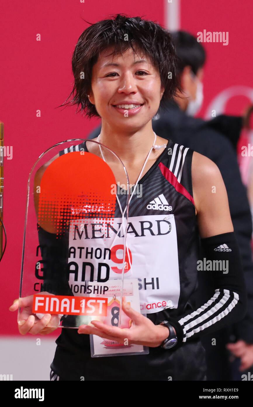 Nagoya, Aichi, Japan. 10th Mar, 2019. Kayoko Fukushi (JPN) Marathon : Nagoya Women's Marathon 2019 in Nagoya, Aichi, Japan . Credit: YUTAKA/AFLO SPORT/Alamy Live News Stock Photo