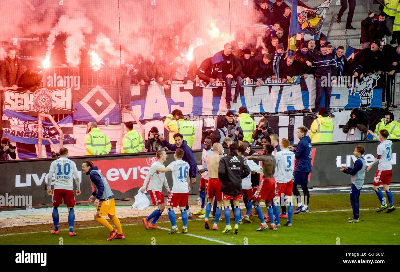 Hamburg Germany 10th Mar 2019 Soccer 2nd Bundesliga Fc