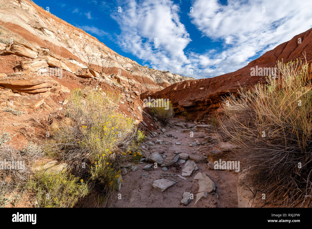 Grand Staircase-Escalante National Monument Stock Photo