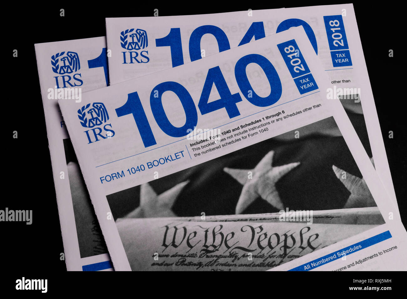 Irs Forms Stock Photos & Irs Forms Stock Images - Alamy