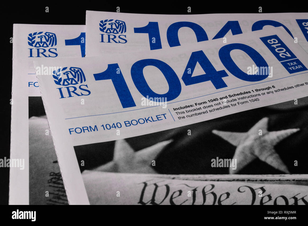 1040 Tax Forms Stock Photos & 1040 Tax Forms Stock Images - Alamy