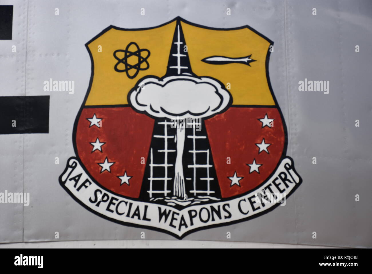 Air Force Special Weapons Center Insignia - Stock Image
