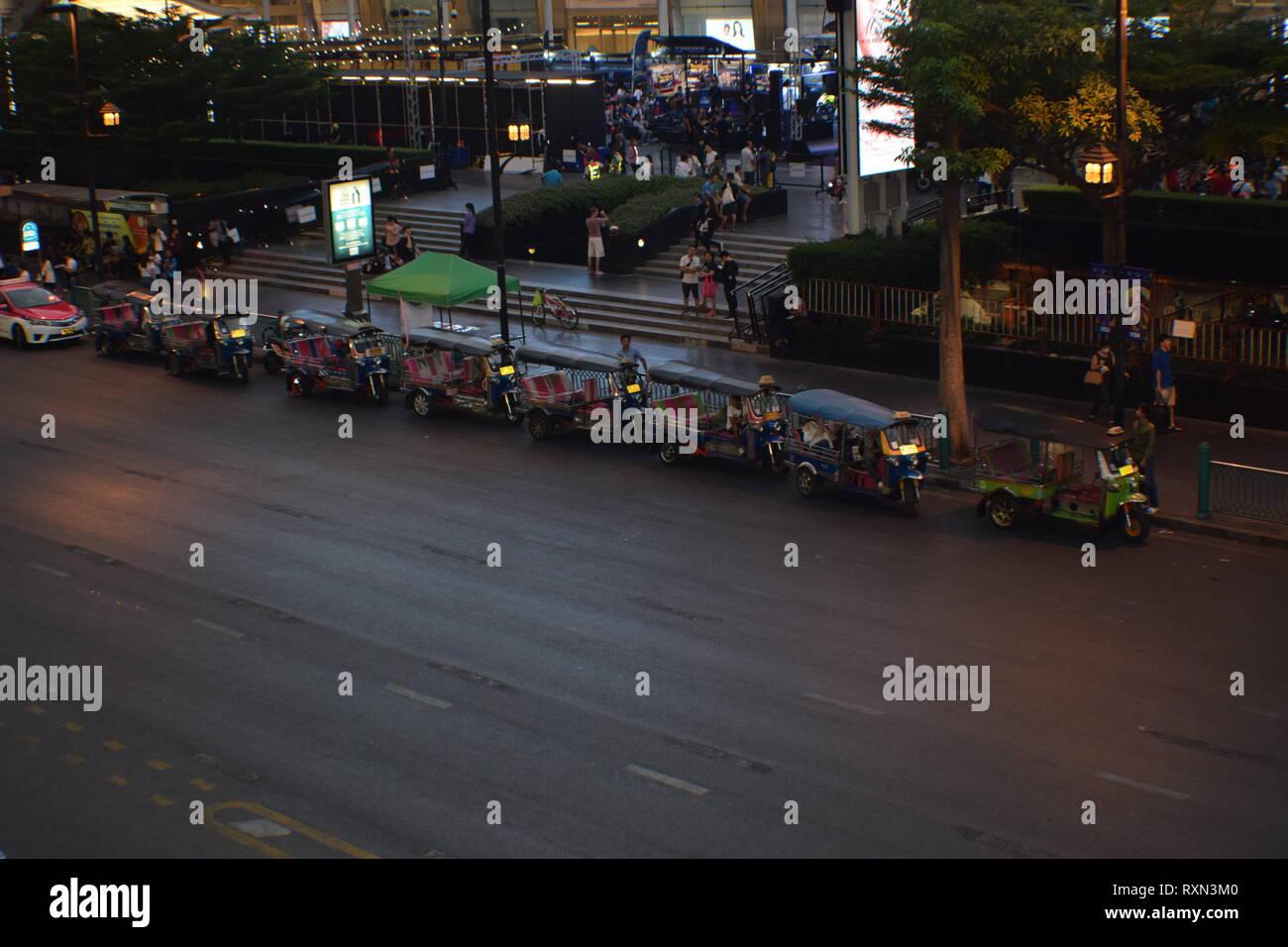 Evening at Bangkok - Stock Image
