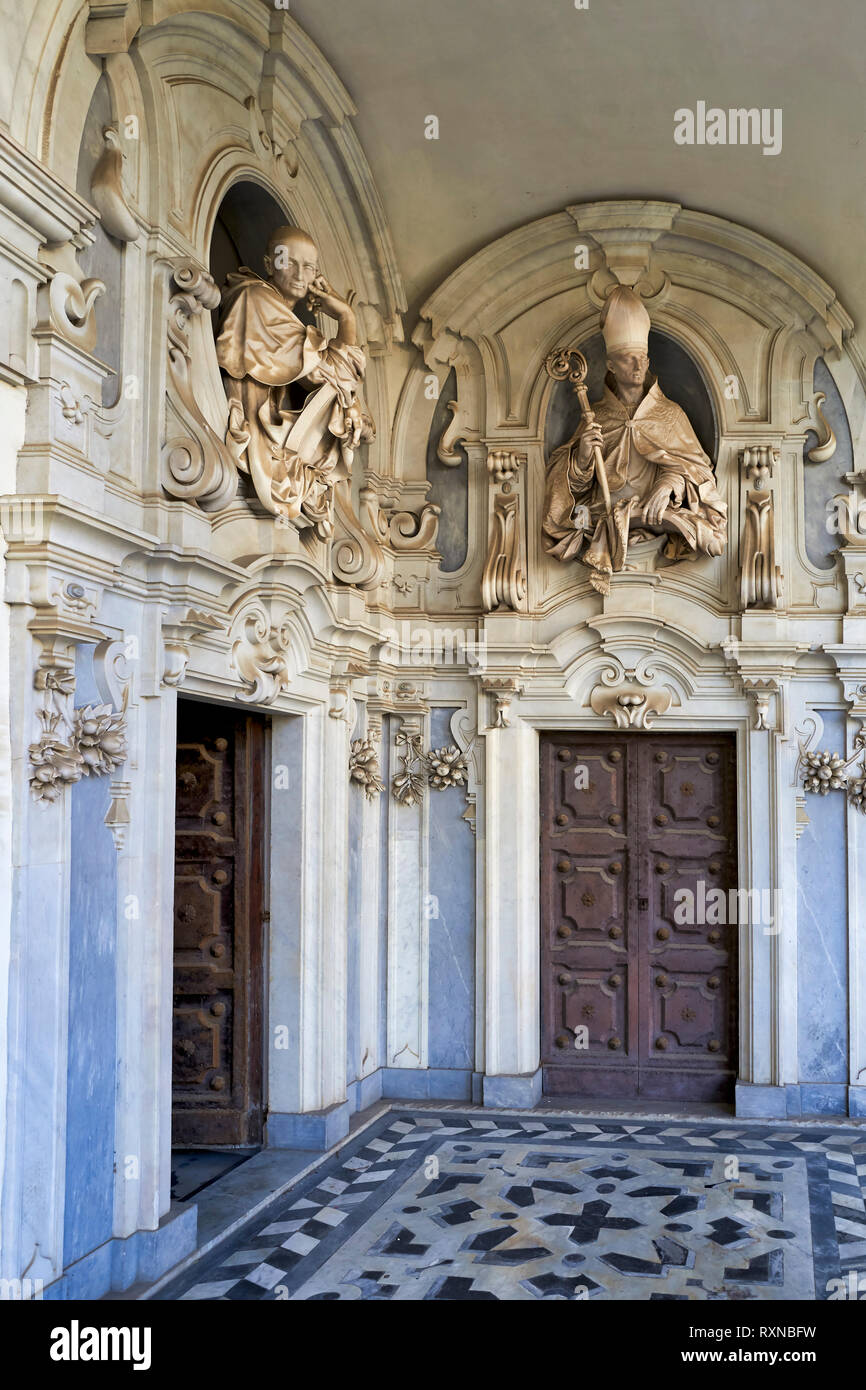 Naples Campania Italy The Certosa Di San Martino Charterhouse Of St Martin Is A Former Monastery Complex Now A Museum In Naples Southern Italy Stock Photo Alamy
