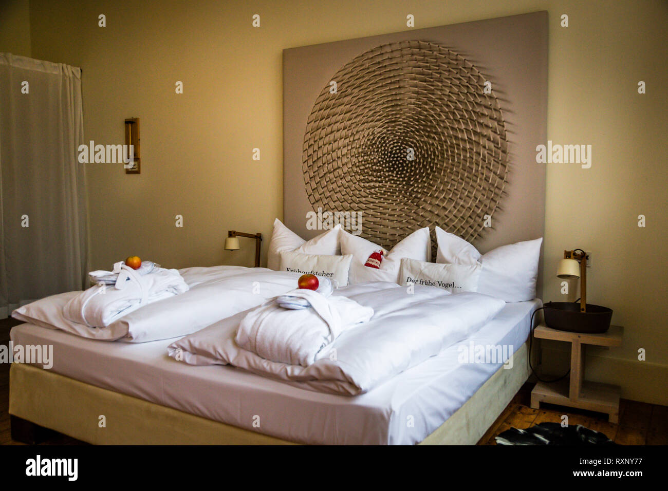 Hotel Kavaliershaus in Fincken, Germany Stock Photo