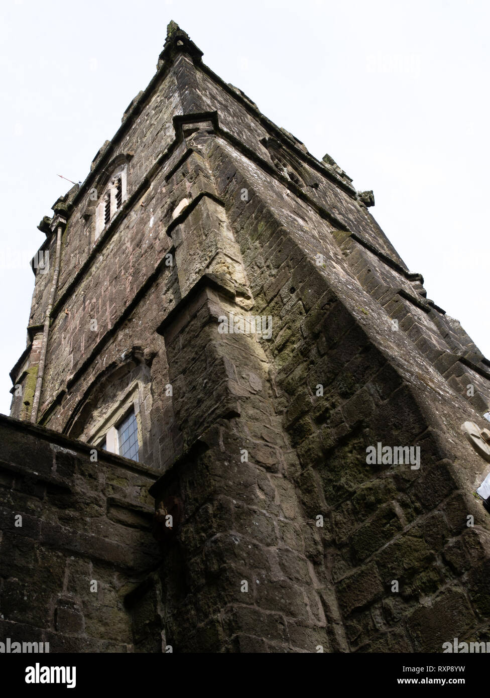 St Peter's church, Shaftesbury, Dorset, UK - Stock Image