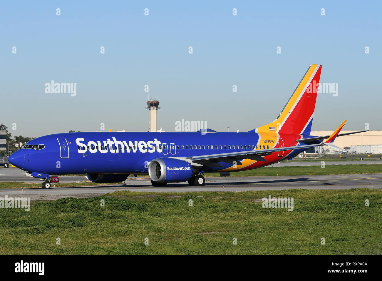 Boeing 737 Winglet Stock Photos & Boeing 737 Winglet Stock