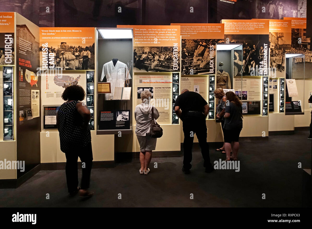 National Civil rights museum Memphis Tennessee - Stock Image