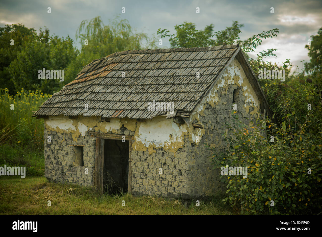 Decay, decline, ruins - Stock Image