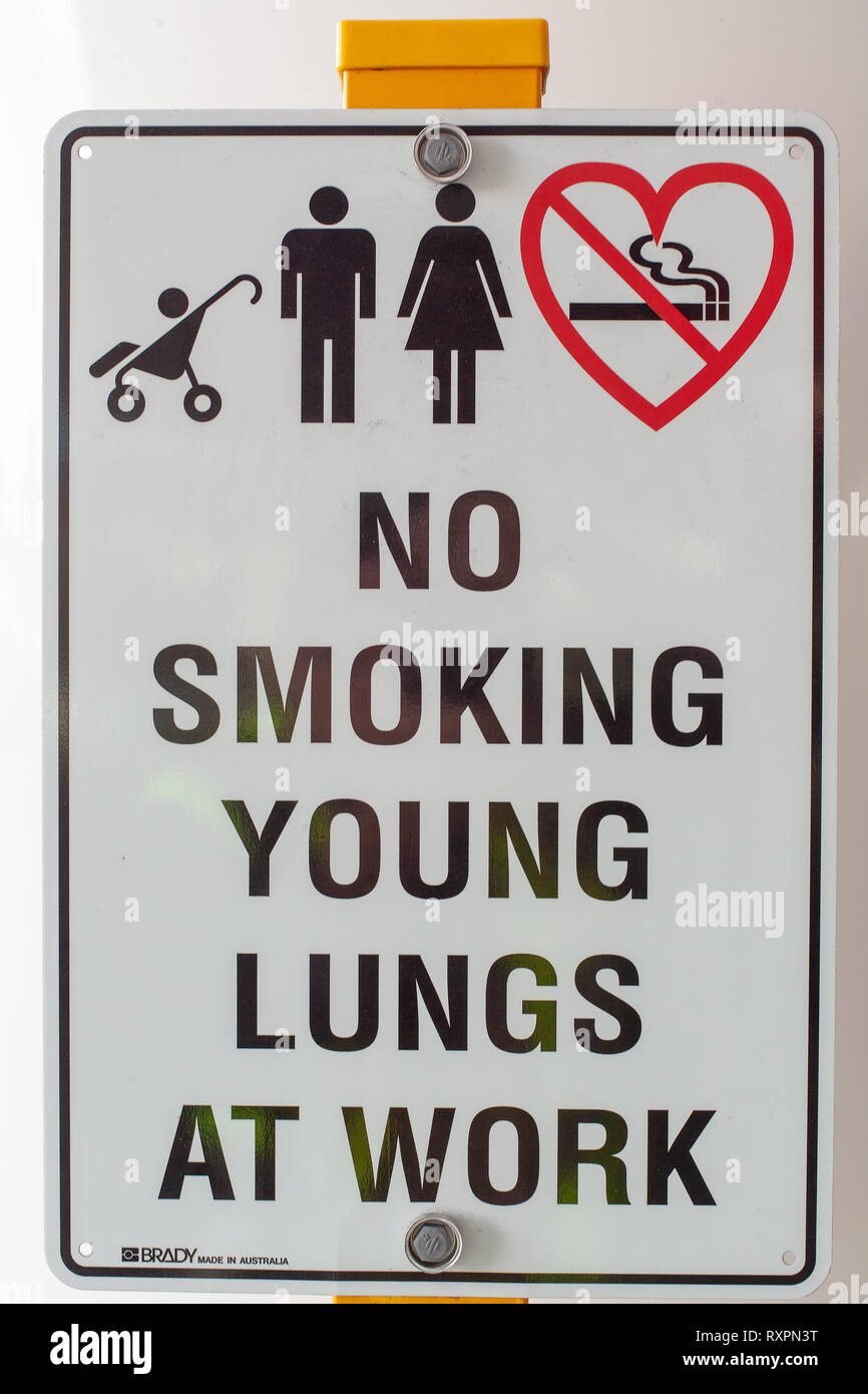 Signs around university and hospital - Stock Image