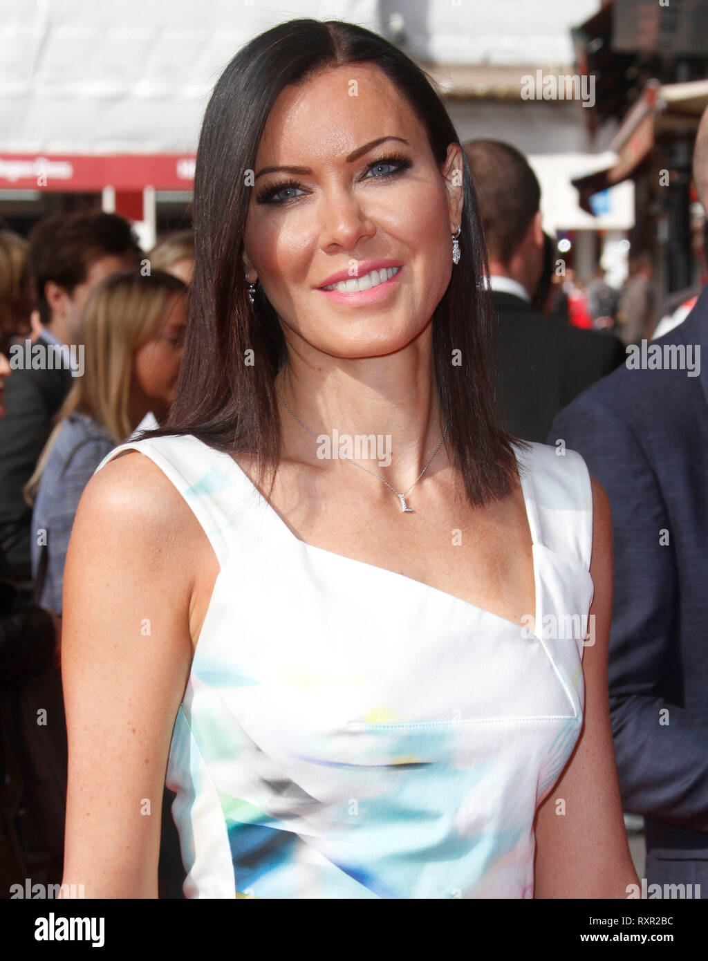 Mar 12, 2015 - London, England, UK - The Prince's Trust & Samsung Celebrate Success Awards, Odeon, Leicester Square Photo Shows: Linzi Stoppard - Stock Image