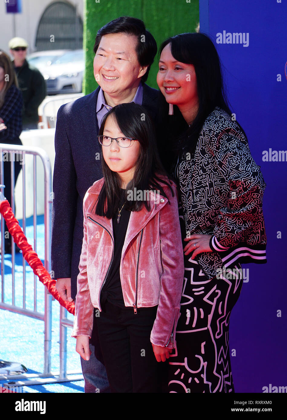 Ken Jeong And Family High Resolution Stock Photography And Images Alamy