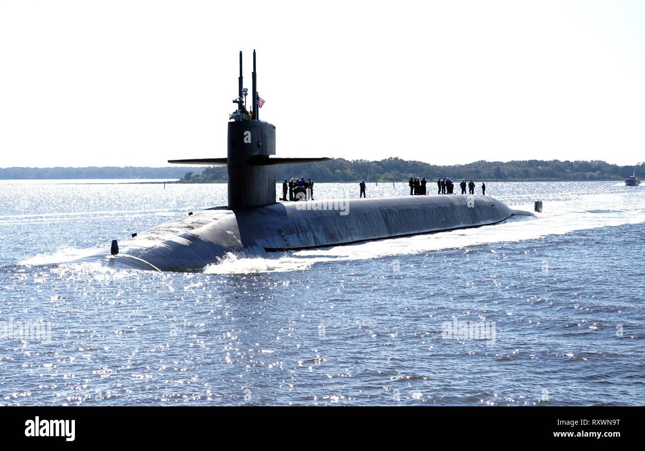 Naval Submarine Base Kings Bay Stock Photos & Naval Submarine Base