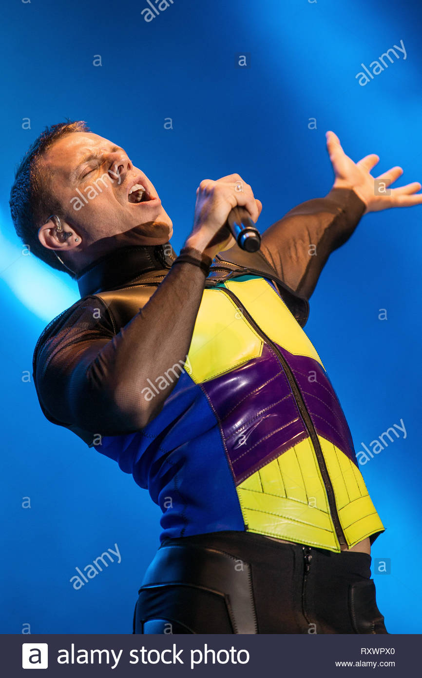 SCISSOR SISTERS (Jake Shears) performing live, 14 july 2011 Stock Photo