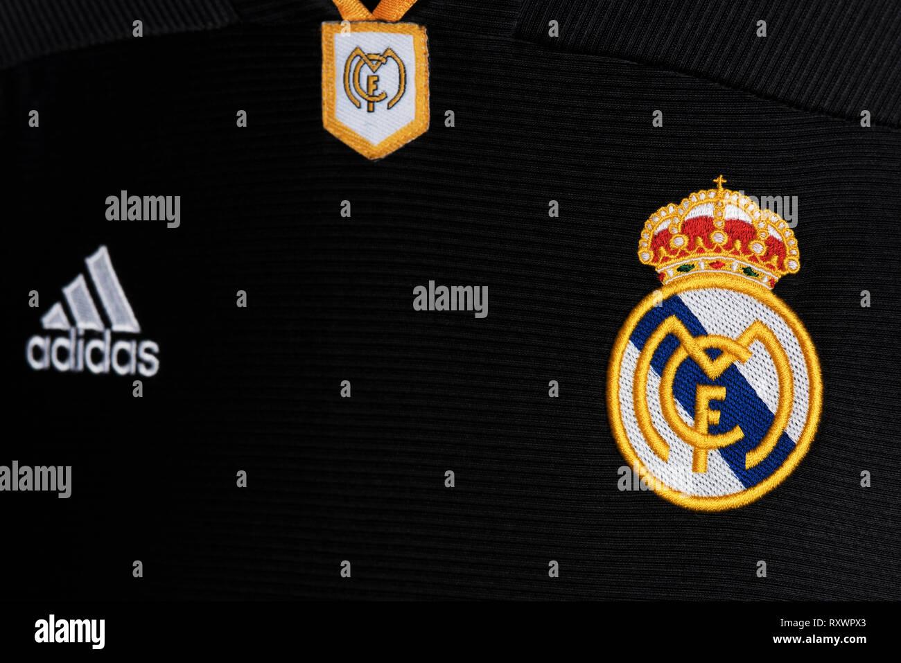 half off 995cb 18255 Real Madrid Black Away Stock Photos & Real Madrid Black Away ...