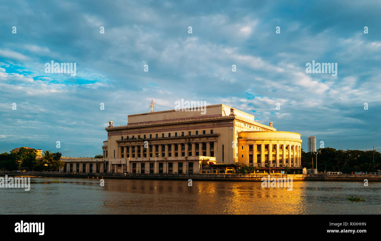 The National Post Office of the Philippines - Stock Image