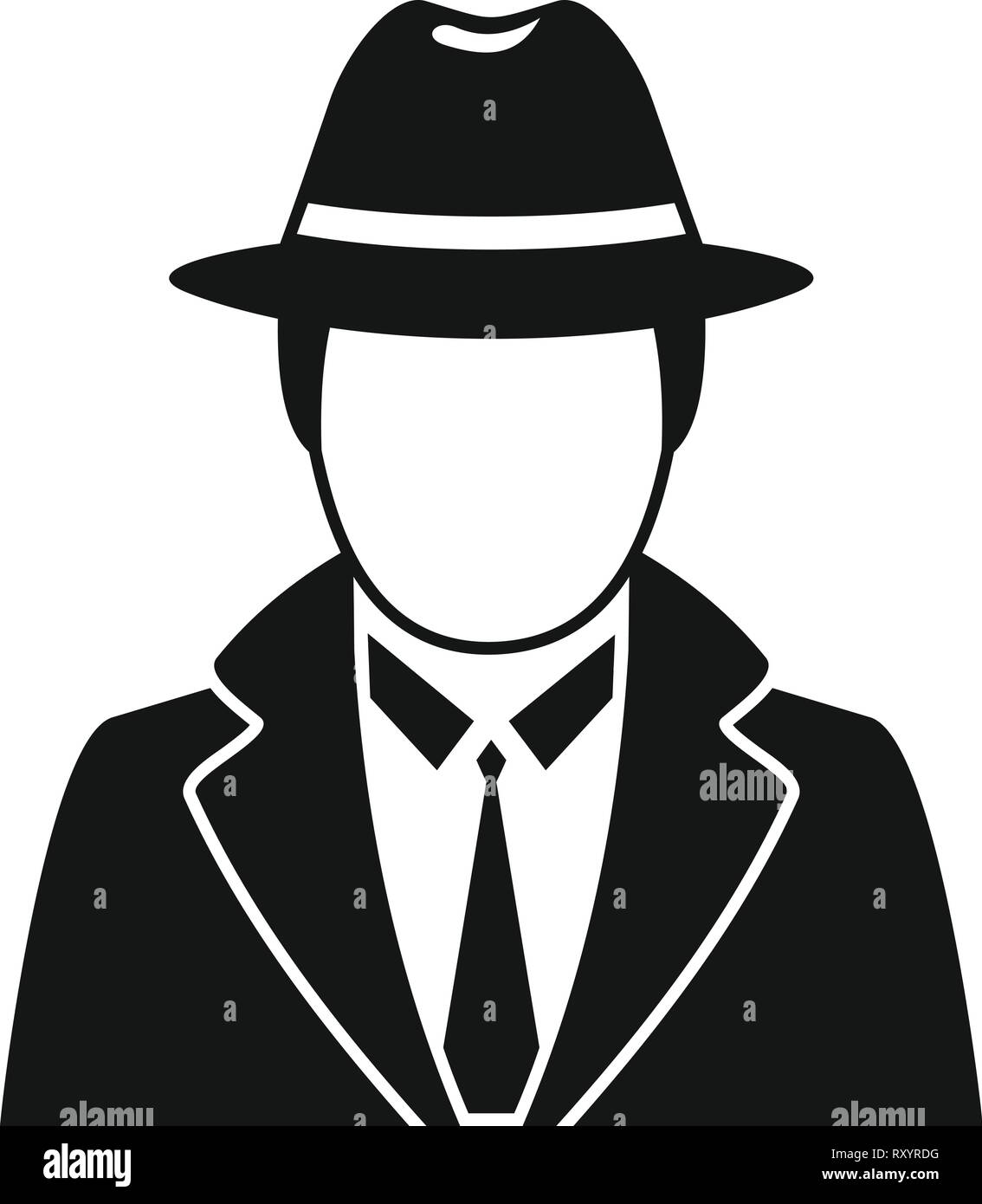 Private Detective Hat High Resolution Stock Photography And Images Alamy 700+ vectors, stock photos & psd files. https www alamy com police detective icon simple illustration of police detective vector icon for web design isolated on white background image240326956 html