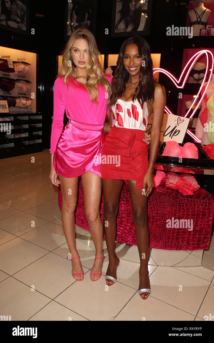 b92995a95d Victoria s Secret Angels Jasmine Tookes And Romee Strijd Celebrate  Valentines Day Featuring  Romee Strijd