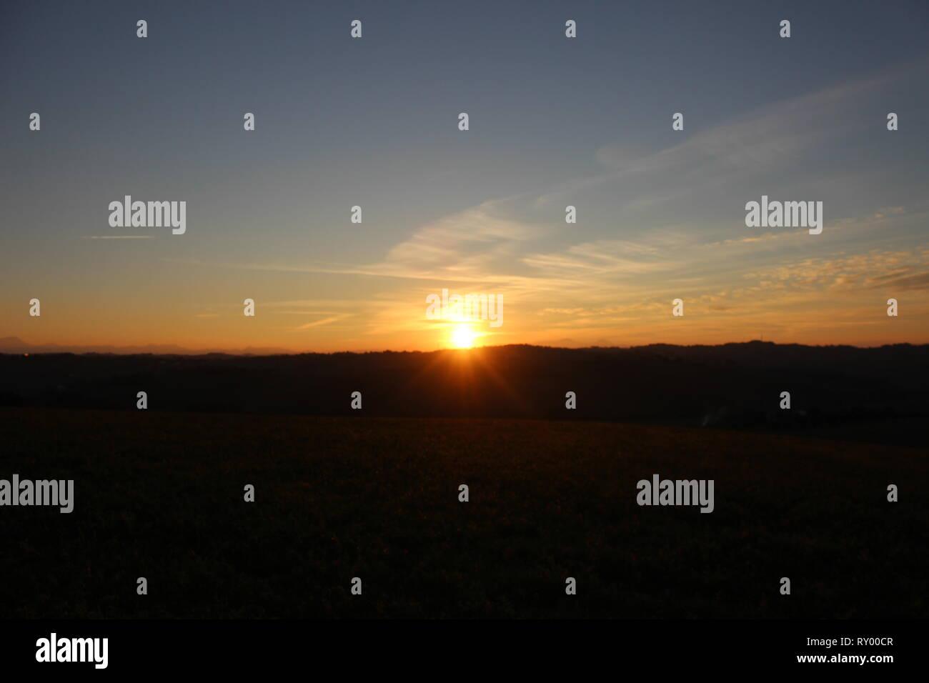 Tramonto - Stock Image