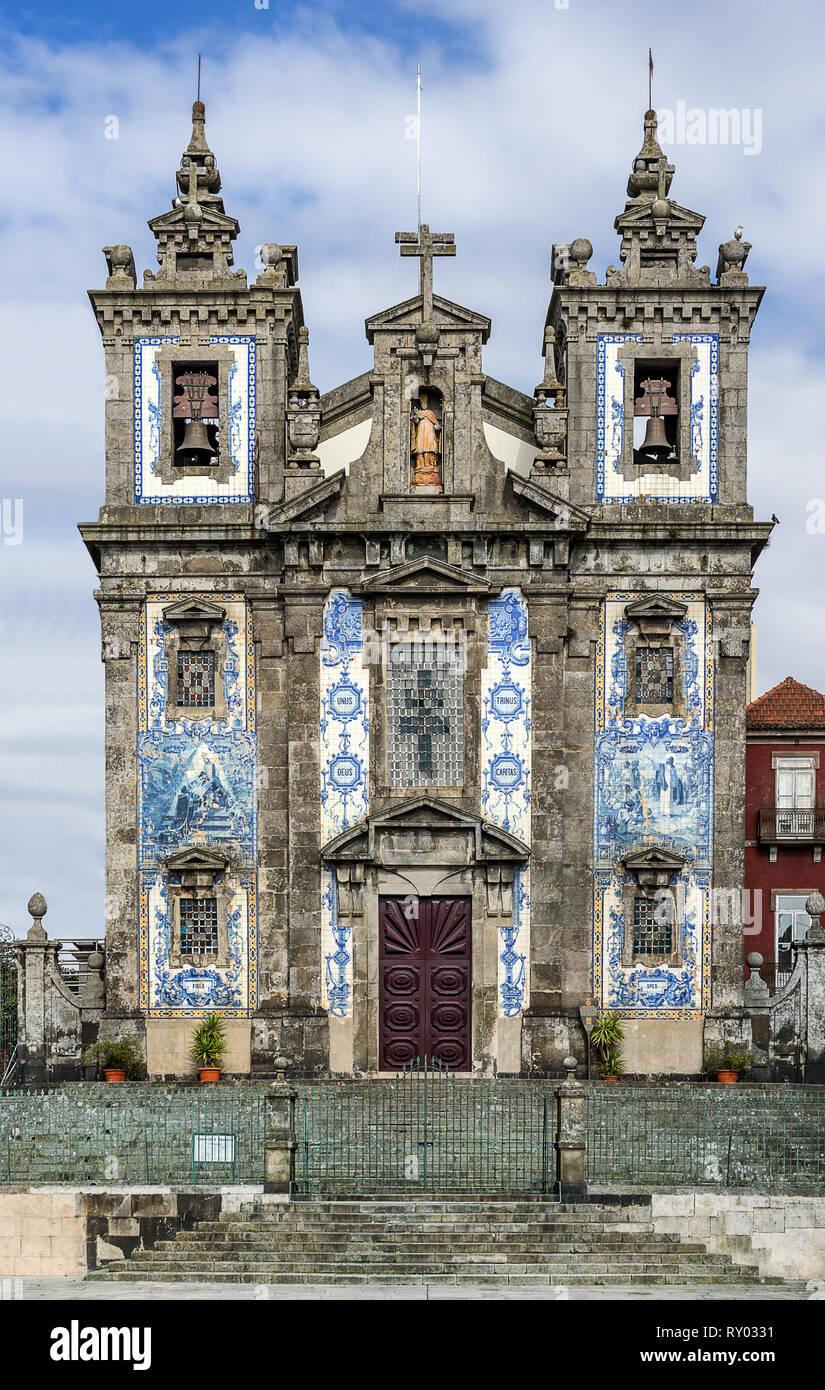 Church of Saint IIdefonso - Stock Image