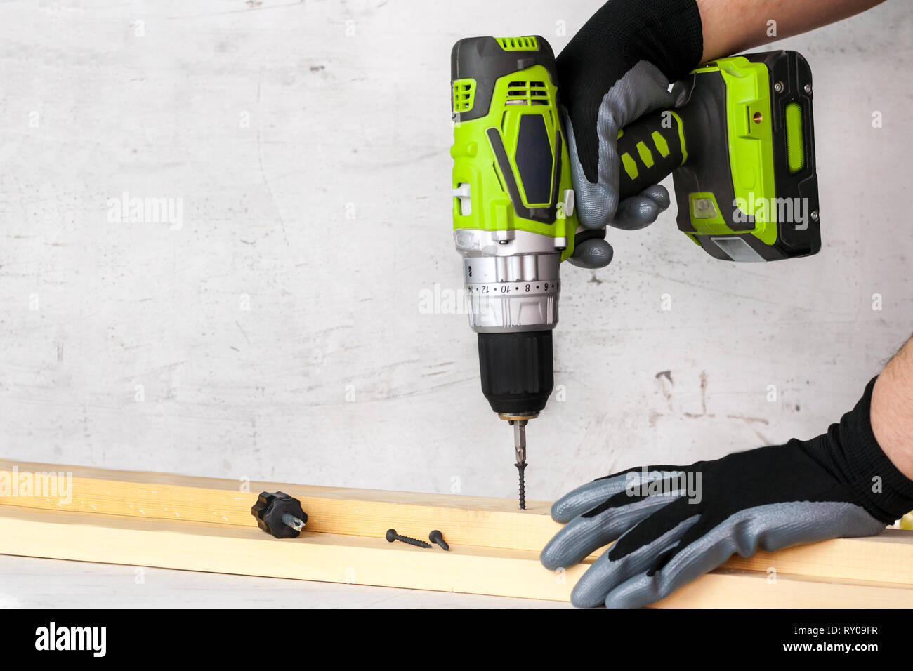 How To Attach To Concrete Wall Without Drilling