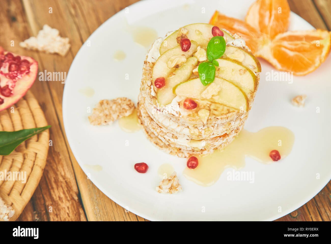 Fantastic Vegan Diet Organic Natural Birthday Cake With Rice Crisp Bread Personalised Birthday Cards Akebfashionlily Jamesorg
