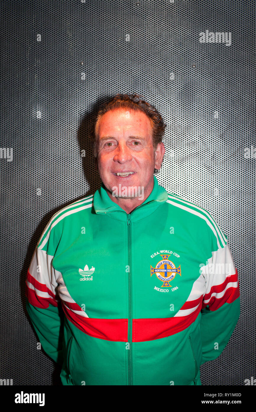 d1a000eef54 Northern Ireland 1986 world cup squad football player Gerry Armstrong. -  Stock Image